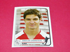 40 A. CHARISTEAS AJAX AMSTERDAM UEFA PANINI FOOTBALL CHAMPIONS LEAGUE 2005 2006