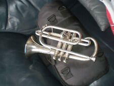 More details for cornet quality silver plated regent by boosey & hawkes ( 1980)