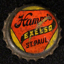Hamm'S Exelso Prohibition Solid Cork Beer Bottle Cap St Paul Minnesota Crown Pro