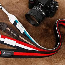 MATIN Triple-38[Red/Navy] D-SLR RF Mirrorless Camera Neck Shoulder Strap Belt