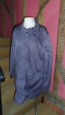 XL Purple  Field Coat in a Cotton Blend from Indigo by M & S