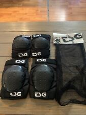 Tsg Profesional Elbow Knee Pads Set Size Adult Medium Skater Bicycle Protection