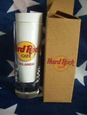 HRC Hard Rock Cafe Orlando Classic Logo Red Letter Shot Glass Schnapsglas nEW