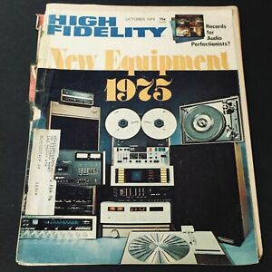 VTG High Fidelity Magazine October 1974 - Records for Audio Perfectionists