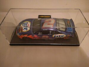 Rusty Wallace ACTION RACE FANS #2 Miller Lite / Harley Davidson 1/24 Chrome