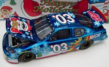 Sam Bass 2003 Christmas Holiday Car Color Chrome Santa #03 NASCAR Diecast New