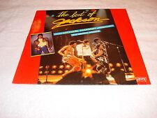 Michael Jackson Best Of Jackson Brazil Promo Only LP Album Vinyl Mega Rare