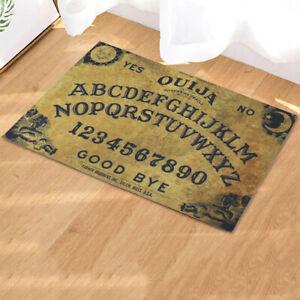 Vintage Ouija Board Welcome Mat Gothic Entrance Doormat Halloween Home Decor