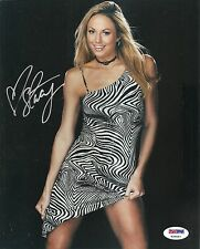 Stacy Keibler Sexy WWE Diva 8x10 PHOTO Signed Auto PSA/DNA COA