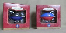 NFL Collection Houston Oilers & Ravens handcrafted Keepsake ornament Hallmark