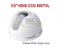 "Indoor CCTV Camera, 1/3"" HDIS 800TVL Camera--White Housing--"