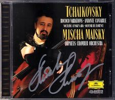 Mischa MAISKY Signiert TCHAIKOVSKY Rococo Variations Souvenir de Florence DG CD