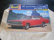 Revell 2004 '67 Charger 426 Hemi 2'N I' Model Kit.