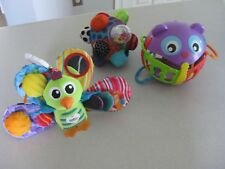 3 Brand New Colorful Developmental Baby Toys for Play and for Learning / NEW