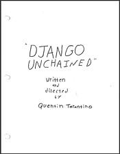 Django Unchained Script Reproduction (original, signed, color)