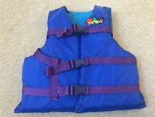 """Stearns Life Vest Youth UNISEX BLUE Coast Guard Approved CHEST SIZE 26-29"""""""