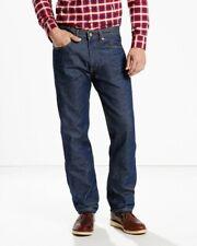 Levi's 505 Regular Fit Jeans Dark Mens 36x32 New
