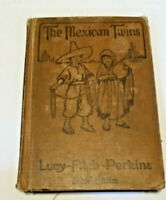 The Mexican Twins by Lucy Fitch Perkins 1915 Hardcover Houghton Mifflin Grade 6