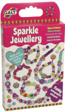 GALT TOYS Sparkle Jewellery Making Girls Glitter Beads Crafts Jewellery Set