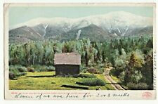 POSTCARD MT CLAY & MT WASHINGTON from TWIN RIVERS WHITE MOUNTAINS NH/©1901