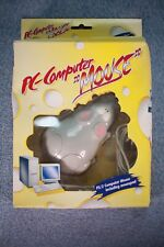 NOS NEW OLD STOCK Vintage PC Computer MOUSE Animal Novelty W/ Cheese Mousepad