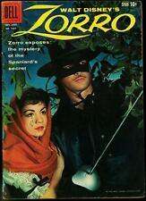 Zorro - Four Color Comics #1037 1959- Guy Williams Annette VG