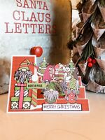 handmade Card Kit Stampin' Up! Gnome Christmas Step Card