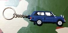 Landrover Range Rover Classic 3dr Collectors Key Ring - DARK BLUE