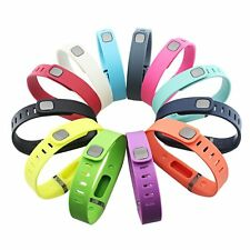 GinCoband 12PCS Fitbit Flex Wristband Replacement Accessory with Clasp LARGE