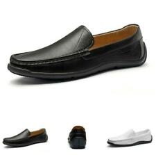 Men Driving Moccasins Flats Slip on Loafers Non-slip Business Leisure Shoes 44 L