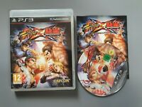 Street Fighter X Tekken - Sony Playstation 3 PS3 (boxed with manual) - VGC