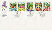 CANADA #1311-1315 40¢ PUBLIC GARDENS FIRST DAY COVER