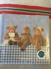 Vintage Anne Geddes Photo Album - Baby Bears! Holds 152 Photos! New, Never Used!