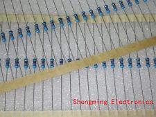 100PCS 1/4W Watt 100 ohm 100R Metal Film Resistor 0.25W 1% RoHS