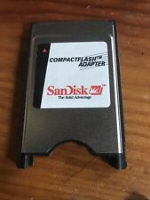 SANDISK COMPACT FLASH ADAPTER