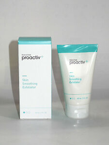 Proactiv+ Plus SKIN SMOOTHING EXFOLIATOR 2 oz / 60mL x2 CREAMY FACE CLEANSER