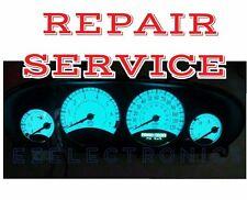 2007 2009 Chrysler Sebring, 300 Instrument cluster back lighting REPAIR SERVICE