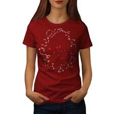 Wellcoda Astrological Star Womens T-shirt, Horoscope Casual Design Printed Tee