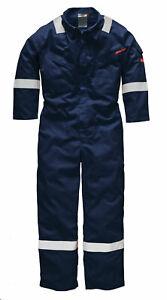 Dickies Mens Work Lightweight Overalls Summer Coveralls Hi Viz Boiler Suit