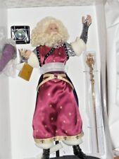 Franklin Mint The Arthurian Legend Merlin Porcelain Doll Nrfb