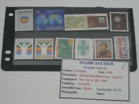 STAMPS FROM CANADA STAMP LOT COLLECTION