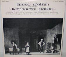 Bruno Walter conducts Beethoven Fidelio 2LP Vinyl Kirsten Flagstad Set Svanholm