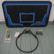 Lifetime 44-inch High Impact Backboard, Rim and Base for Portable System 1268