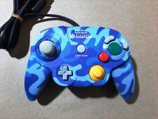 HORI PAD CUBE Controller for Nintendo GameCube Blue Urban Camo