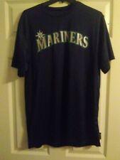 Majestic Seattle Mariners Cool Base wicking T Shirt Size Large.