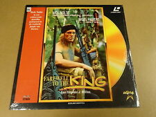 LASERDISC / FAREWELL TO THE KING ( NICK NOLTE )