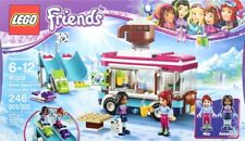 Lego Friends 41319 Snow Resort Hot Chocolate Van Girls Mia Amanda Building Set