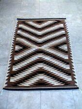 Auth.Native American Indian Navajo Crystal/Dazzler Heavy Wool Rug/Mariano
