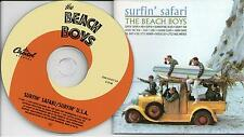 Beach Boys, The ‎– Surfin' Safari / Surfin' U.S.A CDCompilation, Remastered 2001