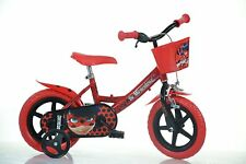 BICI 12 MIRACULOUS LADY BUG BAMBINA 3 5 ANNI DINO BIKES MADE IN ITALY